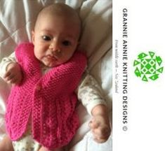 Baby's Vest knitting pattern