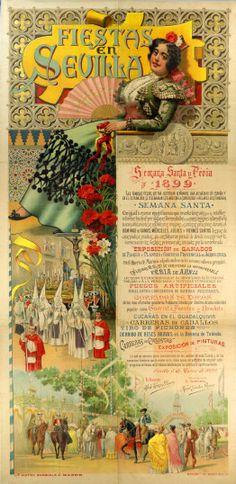1899 Semana Santa i Feria de Sevilla Albertina