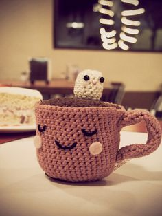 crochet chocolate #amigurumi
