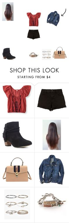"""Untitled #172"" by monroden on Polyvore featuring Aéropostale, J Brand, Chelsea Crew, Gucci, Gap e Boohoo"