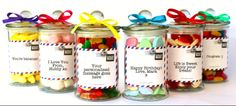 Lollymail is the fun alternative to flowers and edible bouquets. Who doesn't love lollies, you're sure to find a jar with your name on it! Simply choose your jar size, pick and mix your lollies and write your message for the label. We then get our packing team to beautifully gift wrap it and deliver it to your lucky recipient. A great way to show you care that's fun and easy to order.