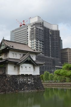 Imperial Palace and Marunouchi photo by Ramona Bajema  There's something beautiful about the juxtaposition of old and new