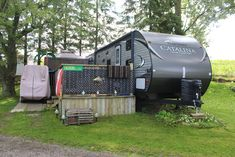"""Looking for a great deal on a used RV? We just listed a 2016 35' 8"""" Catalina with tons of extras for only $38,000. The Coachmen Catalina is a trusted name that provides a versatile and reliable experience! The Catalina appeals to a broad breadth of RV lifestyles ranging from weekend use all the way to extended use. Features:  • Front bedroom with bunks   • Mid kitchen & living room with fireplace  • Walk through bathroom, rear queen bedroom  • All dishes, pots and pans, a/c, 2 slide outs  •…"""