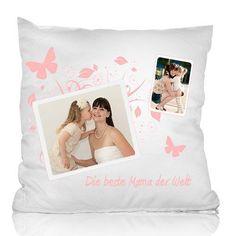 Das Kissen mit deinem Foto ist ein liebevolles Fotogeschenk zum Kuscheln. Verschenke es zum Muttertag, Geburtstag oder zu Weihnachten. Für deine Liebsten.