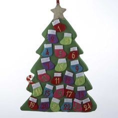 Adler Countdown To Christmas Tree Advent Calendar | Christmas Shop | Arnotts