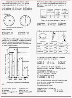 Atividade Avaliativa de Matemática  |   Rérida Maria