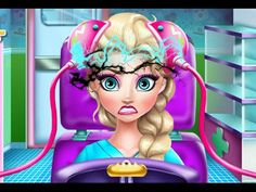 Elsa Brain Doctor - Juegos de Frozen