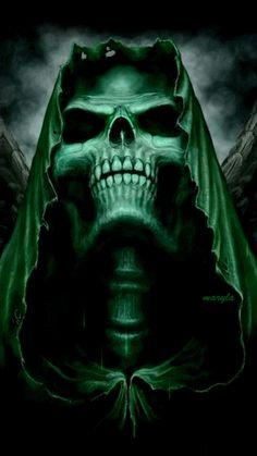 Grim Reaper Angel of Death Grim Reaper Art, Don't Fear The Reaper, Dark Reaper, Arte Horror, Horror Art, Skull Artwork, Cool Artwork, Dark Fantasy Art, Dark Art