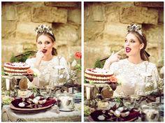 vista de la tarta rede velvet que  publicaron en la editorial-elbalcondealicia-revista-de-novias-coronas-repostería-blog-de-bodas0152 Girls Dresses, Flower Girl Dresses, Editorial, Wedding Dresses, Flowers, Blog, Fashion, Brides, Crowns