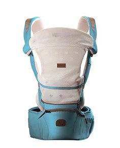 Bebamour 360 Best Baby Carrier Hip Seat Sling Baby Backpack Carriers (Blue) Baby Backpack, Best Baby Carrier, Packing, Backpacks, Children, Blue Check, Bags, Bag Packaging, Toddlers