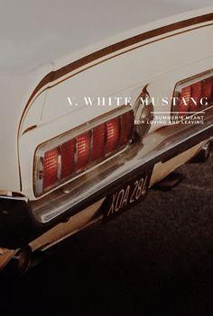 White mustang Lana del Rey