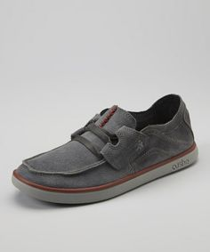 Take a look at this Dark Gray Evo-Lite Taylor Suede - Men by Cushe on #zulily today!