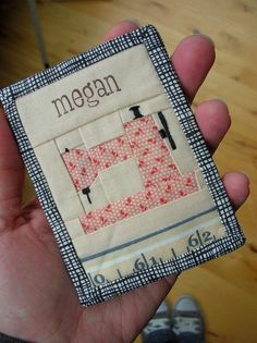 Sewing Machine Mini Quilt Tutorial