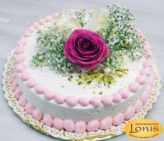 Μοναδική σε εμφάνιση & γεύση τούρτα γάμου - αρραβώνων #wedding #cake Cooking Tips, Birthday Cake, Desserts, Recipes, Food, Meals, Tailgate Desserts, Deserts, Birthday Cakes