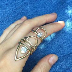 Bermuda Triangle @adriaticjewelry @dianamitchelljewelry #AdriaticJewelry #DianaMitchell #ROSEARK