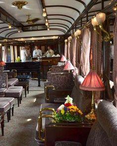 ♔ Venice Simplon Orient Express ~ Piano bar