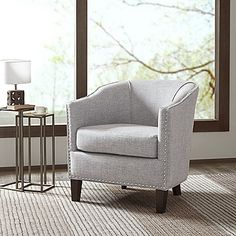 Madison Park Fremont Barrel Arm Chair