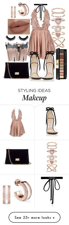"""""""Untitled #416"""" by the-fashion-fantasy on Polyvore featuring Joomi Lim, Manolo Blahnik, Rodo, Yves Saint Laurent and Accessorize"""