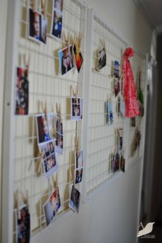"DIY Clipboard ~ ""Or so she says..."" Blog... Can use the pieces from the wire shelvingnI have!"