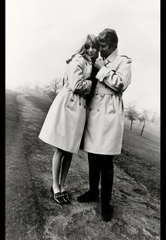 Burberry campaign 1960 #Burberry #Vintage