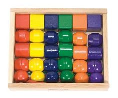 Melissa & Doug Primary Lacing Beads:Amazon:Toys & Games Teach patterns, colors, fine motor skills and shapes!