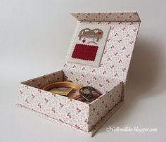 Nelli: Коробочка для рукоделия