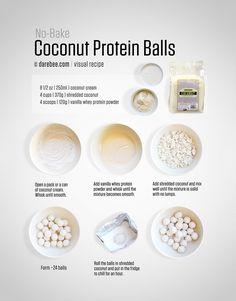 No-bake coconut balls