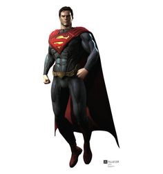 "Opentip.com: Advanced Graphics 1677 Superman - Injustice DC Comics Game - 72"" x 34"" - Cardboard Standup - 72"" x 34"" Cardboard Standup"