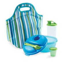 Insulated lunch set