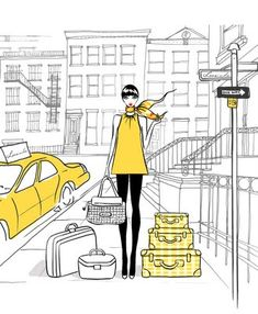 Today's Sartorial Sunday is devoted to the work of talented Melbourne fashion illustrator, Megan Hess. On March Megan's illustrations jum. Megan Hess Illustration, Art And Illustration, Illustrations And Posters, Fashion Illustrations, London Illustration, Arte Fashion, Moda Fashion, Fashion Design, Kerrie Hess