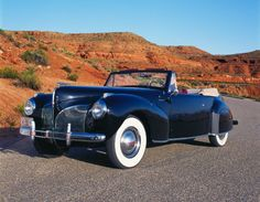 1938 Lincoln Continental...very cool ride indeed
