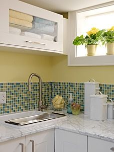 Sarah Richardson Design - Sarah's House 2 - Laundry Room