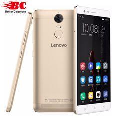 """Original lenovo lemon k5 note 5.5 """"1920x1080 del Androide 6.0 Del Teléfono Móvil MTK Helio P10 64bit Octa Core 1.8 GHz 3 GB + 32 GB 13MP 3500 mAh"""