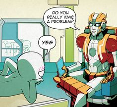 MTMTE anon therapy by Kianite.deviantart.com on @deviantART.... Oh the Rung fangirls are at it again :P