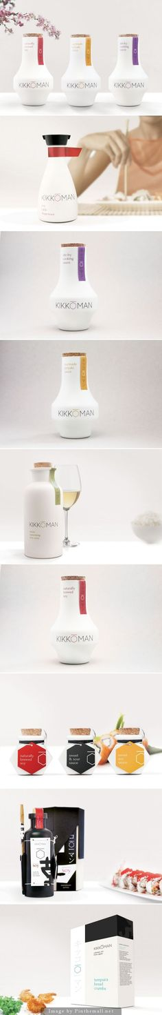 Great Kikkoman rebranding student product packaging curated by Packaging Diva PD
