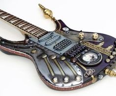 STEAMPUNK GUITAR (1 OF 9)