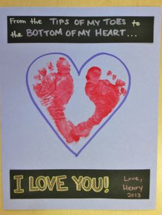 I like the placement of the feet and the heart. Going to steal this idea for sure!