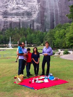 Dr. Oz at Stone Mountain Park.