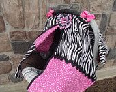 Carseat Canopy Cover  Be in style with these covers to keep your new baby away from germs and wind.