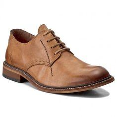 Pantofi FLY LONDON - Hocofly P143817004 Antique Tan Men Dress, Dress Shoes, Fly London, Derby, Oxford Shoes, Lace Up, Antiques, Boots, Fashion