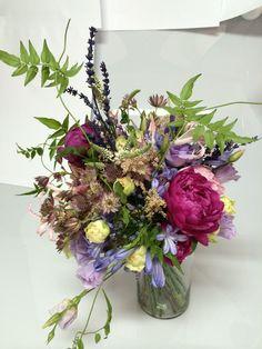Granada, Vintage Bridal Bouquet, Glass Vase, Table Decorations, Floral Decorations, Flowers, Grenada, Dinner Table Decorations