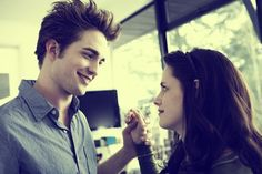 Bella and Edward's first dance together   It makes me sad to think that twilight is over :'-(