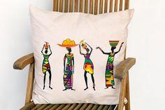 Kussens in Afrikaanse stijl