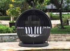 The Apple Day Bed, The ultimate Garden Day Bed that not only makes a beautiful centre piece to any Garden or Outdoor Living area, it is also extremely comfortable and luxurious to relax in while making the most of a hot summers day. The Apple … Luxury Garden Furniture, Furniture Market, Furniture Showroom, Garden Day Bed, Garden Sofa Set, Contract Furniture, Commercial Furniture, Outdoor Living Areas, Centre Pieces