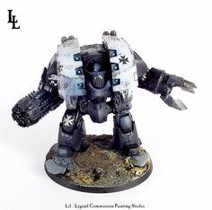 Black Templars Leviathan Dreadnought - Spikey Bits