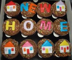 New Home cupcakes