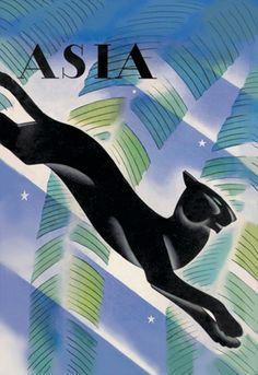 Malayan Night - Asia Magazine, by Frank McIntosh