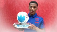 Football: Martial Wins Player Of The Month Award - http://www.77evenbusiness.com/football-martial-wins-player-of-the-month-award/