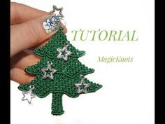 Macrame Christmas Tree ♥ DIY ♥ - YouTube