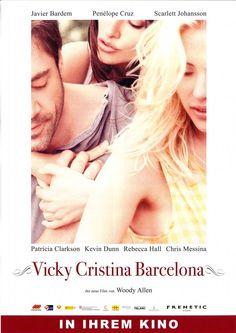 VICKY CHRISTINA BARCELONA - WOODY ALLEN - 2008 ORIG. FILMPOSTER A4